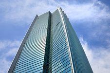 Beijing Office Building Facade Stock Image