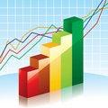 Free Bar Charts Royalty Free Stock Photo - 20561365