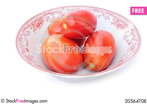 Free Tomatoes In Bowl Royalty Free Stock Photos - 20564708