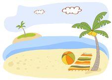 Free Beautiful Beach Landscape Royalty Free Stock Image - 20560296