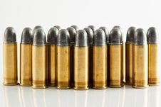 Free Bullets For Gun Stock Image - 20560521