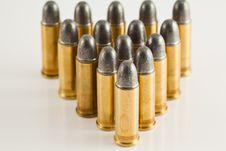 Free Bullets For Gun Stock Photo - 20560540