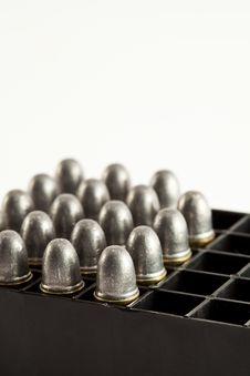 Free Bullets For Gun Royalty Free Stock Photo - 20560555