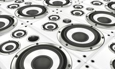 Free Loudspeaker Array Stock Photos - 20560853