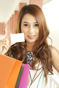 Free Shopping Woman Stock Images - 20561074