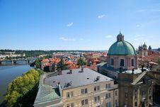 Free The Vltava In Prague Stock Photography - 20561292