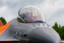 F-16 Canopy Stock Image