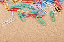 Free Close-up Of Multi-colored Paper Clips Royalty Free Stock Photography - 20561517