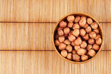 Free Hazelnut In A Bowl Stock Images - 20562054
