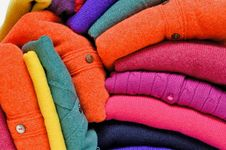Free Colourful Cashmere Alpaca And Merino Wool Stock Photos - 20562093