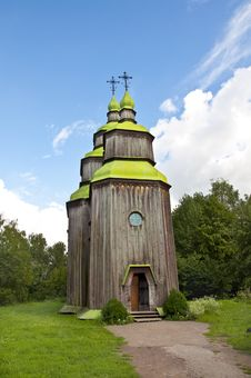 Free Old Wooden Church Royalty Free Stock Photo - 20562185