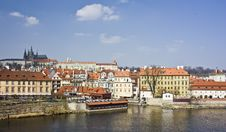 Free View From Charles Bridge Stock Images - 20563054