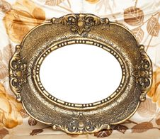 Free Empty Golden Frame Royalty Free Stock Photography - 20563387