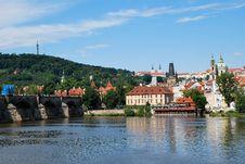 Free Tle Moldau In Prague Stock Images - 20563834