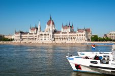 Free Hungarian Parliament Building. Royalty Free Stock Photo - 20563835