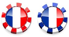 Free France Casino Chips Stock Photos - 20564113