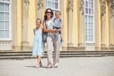Free Tourists Walking In Sans Souci Stock Photos - 20564123
