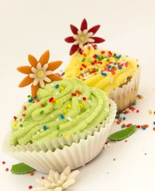 Free Cup Cakes Stock Photo - 20564200