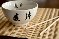 Free Chinese Bowl Stock Photography - 20564292