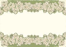 Free Flowers Grunge Postcard.Vintage Stock Images - 20564324