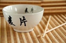 Chinese Bowl Royalty Free Stock Image