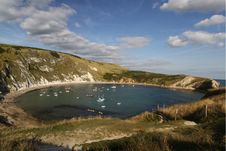 Free Lulworth Cove Royalty Free Stock Image - 20564416