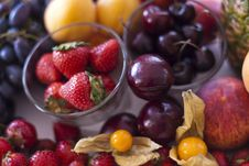 Free Selection Of Berries Royalty Free Stock Photos - 20564448