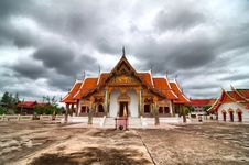 Free House Of Worship, Thai Temple (HDR) Stock Images - 20564604