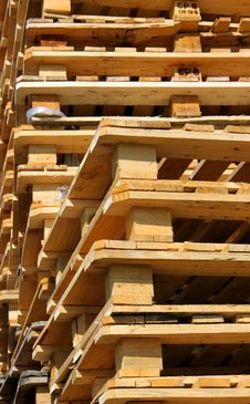Euro Pallet Royalty Free Stock Photography