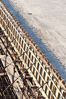 Free Bridge Construction Site Royalty Free Stock Image - 20565586
