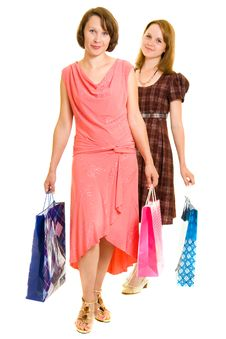 Free Girls With Shopping Stock Photo - 20565890