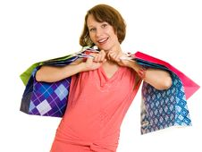Free Girl With Shopping Stock Photo - 20566050