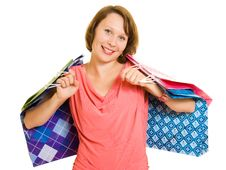 Free Girl With Shopping Stock Photos - 20566083