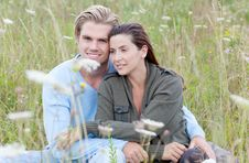 Attractive Couple Stock Photography