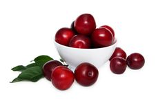 Free Bowl Of Plums Royalty Free Stock Photos - 20567228