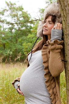 Free Woman In Pregnant Royalty Free Stock Photography - 20567517