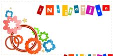 Free Invitation Royalty Free Stock Photos - 20568028