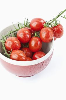 Free Tomatoes In A Bowl Royalty Free Stock Photo - 20568355