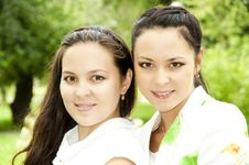 Free Two Sisters Stock Photography - 20568632
