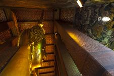 Roof Of The Church, Reclining Buddha Wat Pho. Royalty Free Stock Photography