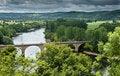 Free Dordogne River And Bridge Royalty Free Stock Photo - 20570565