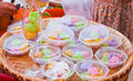 Free Colorful Sweetness Thai Dessert Stock Images - 20572364