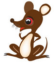 Free Nice Fairy-tale Baby Mouse Royalty Free Stock Photos - 20574098