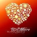 Free Flower Heart Stock Photos - 20576743