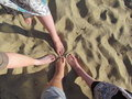 Free Feet In The Sand Stock Image - 20577401