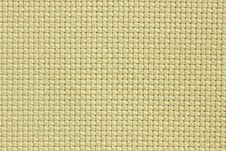 Olive Cotton Texture For The Background, Canvas Stock Photography