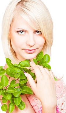 Free Blonde Girl With Beautiful Makeup Stock Photo - 20570620