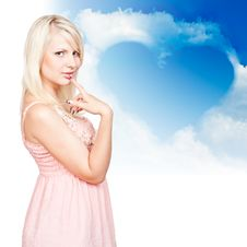 Free Young Beautiful Blonde Royalty Free Stock Images - 20570639