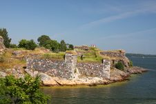Free Suomenlinna Fortress Island Stock Photography - 20571042