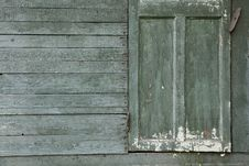 Free Background Of Old  Wall With Door Stock Image - 20571921